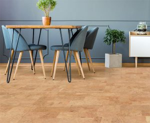 Cork Flooring Like a Do It Yourself Idea